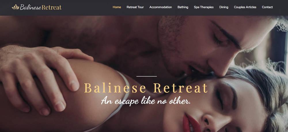 Balinese Retreat Homepage